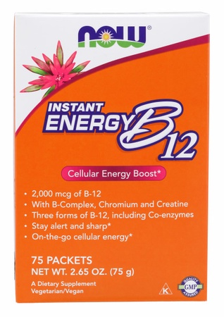 Now Foods B-12 Instant Energy B12 - 75 Packs