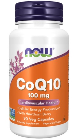 Now Foods CoQ10 100 Mg with Hawthorn Berry - 90 VCap