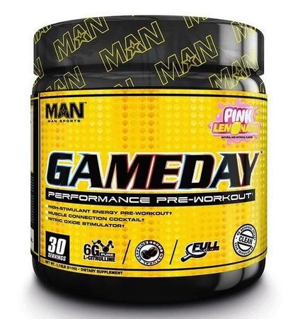 Man Sports Gameday Pink Lememonade - 30 Servings
