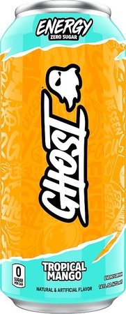 Ghost Energy Drink  Tropical Mango - 12 Cans ($31.99 w/DPS10 coupon code)