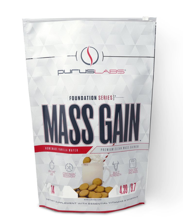Purus Labs Mass Gain Vanilla Wafer - 14 Servings