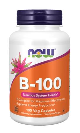 Now Foods B-100 - Vitamin B complex - 100 Cap