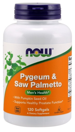 Now Foods Pygeum & Saw Palmetto - 120 Softgels