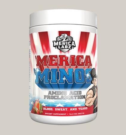 Merica Labz 'Merica 'Minos Blood, Sweat & Tears - 25 Servings