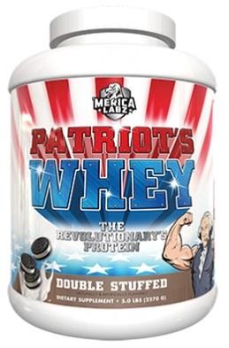 Merica Labz Patriot's Whey Double Stuffed - 5 Lb