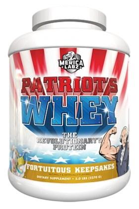 Merica Labz Patriot's Whey Fortuitous Keepsakes - 5 Lb