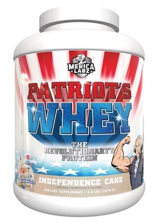 Merica Labz Patriot's Whey Independence Cake - 5 Lb