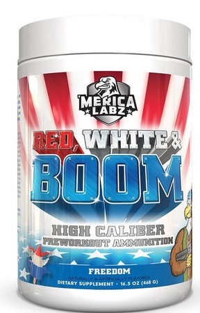 Merica Labz Red, White & Boom Preworkout Freedom - 20 Servings