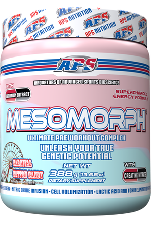 APS Mesomorph Cotton Candy - 25 Servings  *New Formula (Buy 2 or more at $37.50 each w/DPS10 code)
