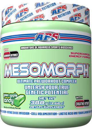 APS Mesomorph Green Apple Candy - 25 Servings  *New Formula (Buy 2 or more at $37.50 each w/DPS10 code)