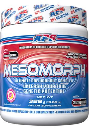 APS Mesomorph Pink Lemonade - 25 Servings   (Buy 2 or more at $37.50 each w/DPS10 code)