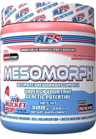APS Mesomorph Rocket Pop - 25 Servings  *New Formula (Buy 2 or more at $37.50 each w/DPS10 code)
