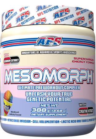 APS Mesomorph Snow Cone - 25 Servings  *New Formula (Buy 2 or more at $37.50 each w/DPS10 code)