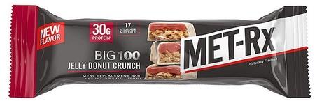 Met-Rx Big 100 Bar Jelly Donut - 9 Bars