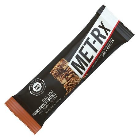 Met-Rx Big 100 Bar Peanut Butter Pretzel - 9 Bars