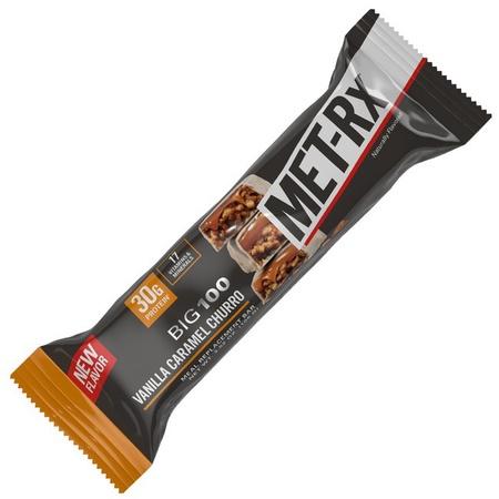 Met-Rx Big 100 Bar Vanilla Caramel Churro - 9 Bars