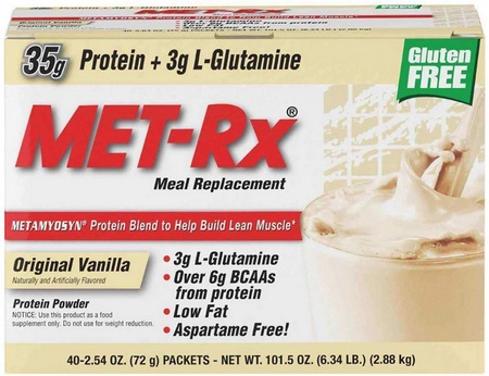 Met-Rx Original Meal Replacement Vanilla - 40 Pack