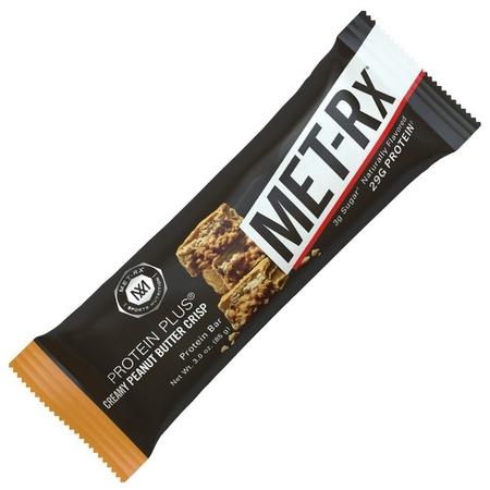 Met-Rx Protein Plus Bar Peanut Butter Crisp - 9 Bars