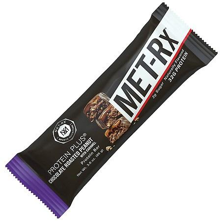 Met-Rx Protein Plus Bars Choc Roasted Peanut - 9 Bars