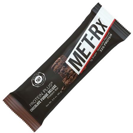 Met-Rx Protein Plus Bars Chocolate Fudge Deluxe - 9 Bars