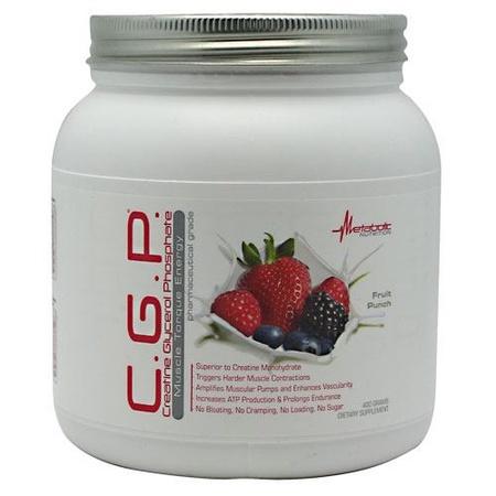 Metabolic Nutrition C.G.P. Fruit Punch - 400 Grams