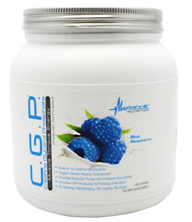 Metabolic Nutrition C.G.P. Blue Raspberry - 400 Grams