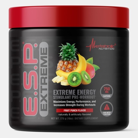 Metabolic Nutrition E.S.P. Extreme Fruit Punch - 50 Scoops