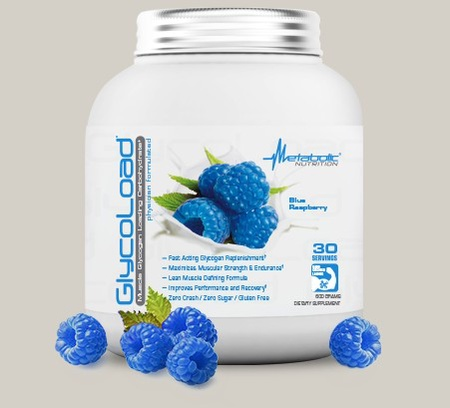 Metabolic Nutrition GlycoLoad Blue Raspberry - 30 Servings