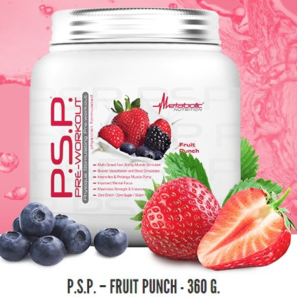 Metabolic Nutrition P.S.P Fruit Punch - 45 Servings *Expiration date 8/20