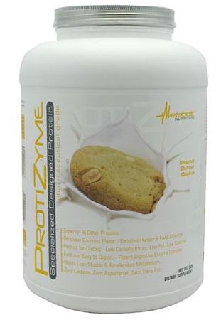 Metabolic Nutrition Protizyme Peanut Butter Cookie - 5 Lb
