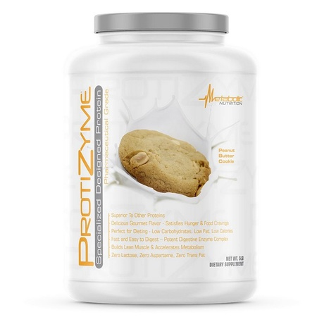 Metabolic Nutrition Protizyme Butter Pecan - 5 Lb