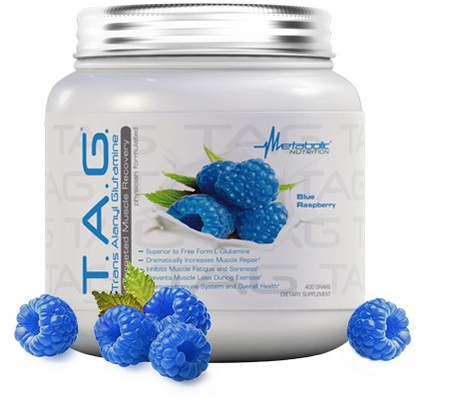 Metabolic Nutrition T.A.G. Blue Raspberry - 400 Grams