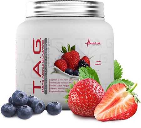 Metabolic Nutrition T.A.G. Fruit Punch - 400 Grams