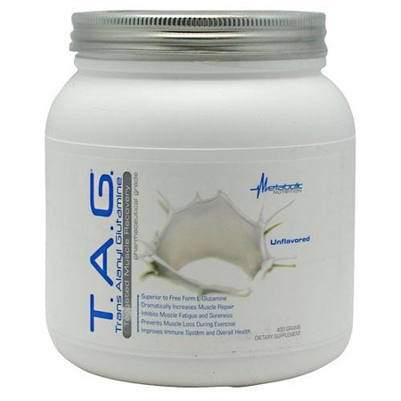 Metabolic Nutrition T.A.G. Unflavored - 400 Grams