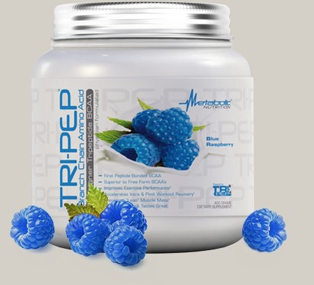 Metabolic Nutrition TRI-PEP Blue Raspberry - 40 Servings
