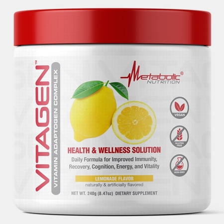 Metabolic Nutrition Vitagen  Lemonade - 30 Servings