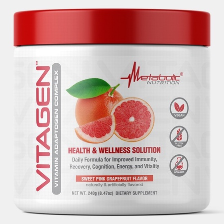 Metabolic Nutrition Vitagen  Sweet Pink Grapefruit - 30 Servings