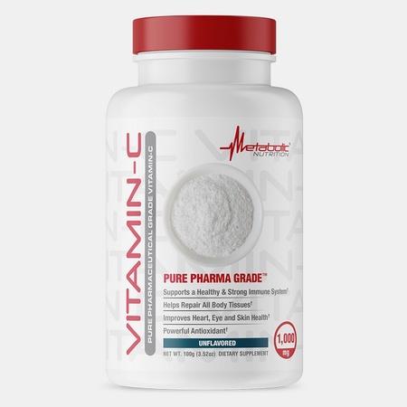 Metabolic Nutrition Vitamin-C Powder Unflavored - 100 Grams