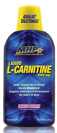 MHP L-Carnitine Liquid 1500 Mg Mixed Berry - 30 Servings  *SALE