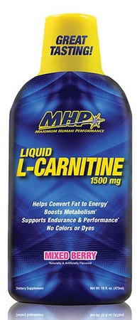 MHP L-Carnitine Liquid 1500 Mg Mixed Berry - 30 Servings
