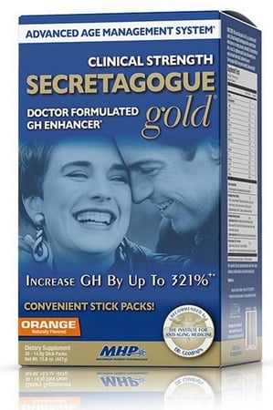 MHP Secretagogue Gold Orange - 30 Pack