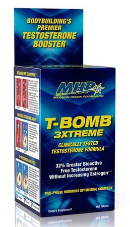MHP T-BOMB 3XTREME - 168 Tablets