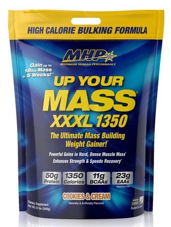 MHP Up Your Mass XXXL 1350 Cookies & Cream - 12 Lb Bag