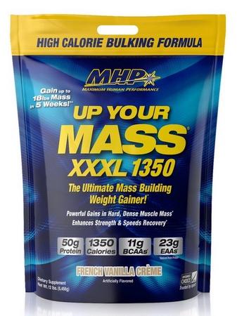 MHP Up Your Mass XXXL 1350 French Vanilla - 12 Lb Bag
