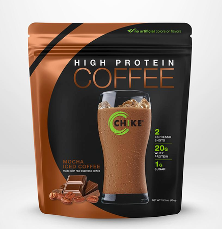 Chike Nutrition High Protein Coffee  Mocha Iced Coffee - 14 Servings