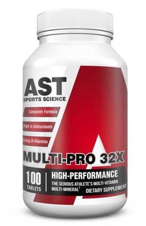 Ast Multi-Pro 32X Multi Vitamin - 100 Caplets