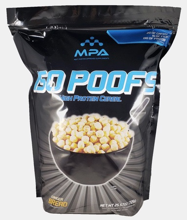 MPA Matt Porter Approved  ISO POOFS Ginger Bread - High Protein Cereal - 29 Servings