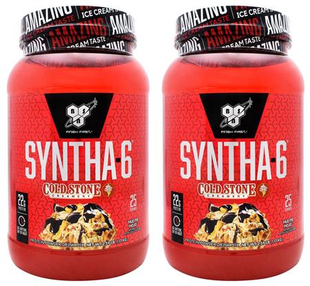 -Bsn Syntha 6 Mud Pie Mojo TWINPACK - 2 x 2.59 Lb (5.18 Lb 50 Servings)