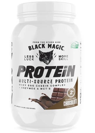 Black Magic Supply Multi-Source Protein Milk Chocolate - 25 Servings