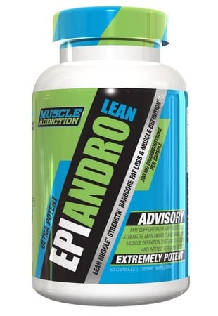 Muscle Addiction EpiAndro Lean (Epiandrosterone) - 60 Cap